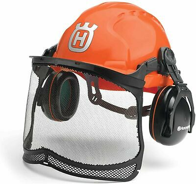 £44.99 • Buy Husqvarna Classic Forest Helmet With Visor Eye Hearing Protector Safety Hat New
