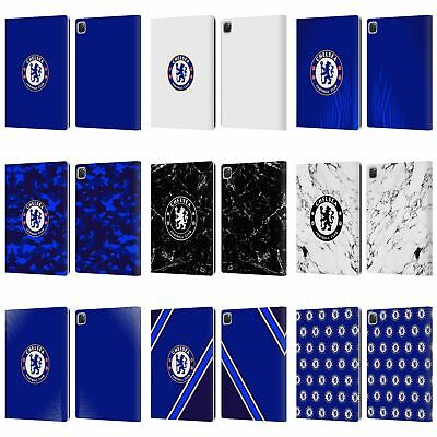 OFFICIAL CHELSEA FOOTBALL CLUB CREST LEATHER BOOK FLIP CASE COVER FOR APPLE IPAD • 22.95£