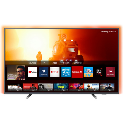 Philips TPVision 43PUS7805 43 Inch TV Smart 4K Ultra HD Ambilight LED Freeview • 418£