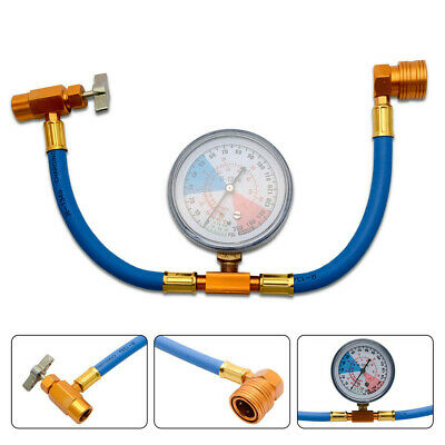 £9.99 • Buy R134A A/C Car Air Conditioning Refrigerant Recharge Measuring Kit Hose Gauge