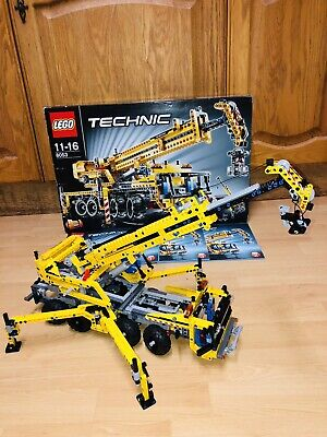 Lego Technic8053 Large Mobile Crane 100% Complete Set Boxed W Manual No Missing • 51£