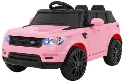 KIDS 12V Range Rover Style Ride On Car RED, WHITE & PINK PARENTAL REMOTE CONTROL • 109.99£