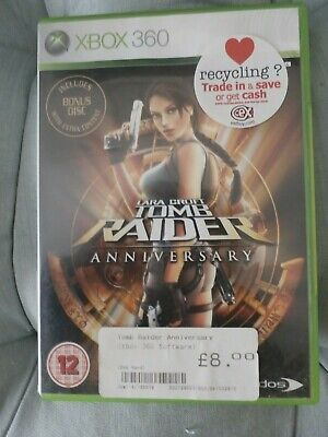 Lara Croft Tomb Raider Anniversary Xbox 360 Game • 1£