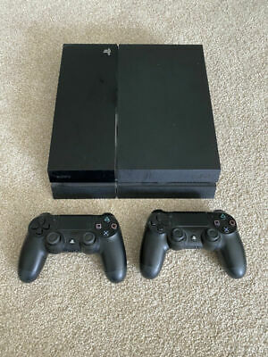 AU250 • Buy Sony PlayStation 4 (PS4)- Black -500GB Console - 5 Games. Excellent Condition.