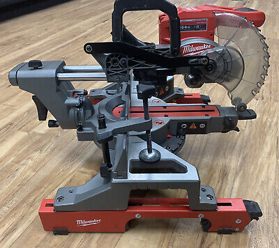 With STAND Milwaukee Slide Mitre Saw Brushless Drop Saw M18FMS190 Fuel Cordless  • 450£