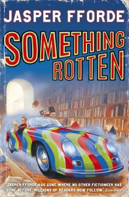 Fforde, Jasper-Something Rotten BOOK NEW • 9.02£