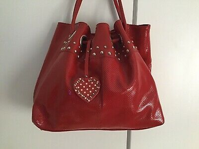 Russell Bromley Bag Red Patent Leather  • 45£