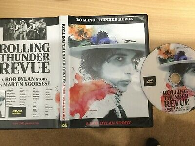 BOB DYLAN   A ROLLING THUNDER STORY  -Scorsese Film DVD ! Black Friday Special ! • 9.99£