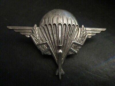 Large Parachute Commando Wings Badge For French Territory Of Chad • 10£