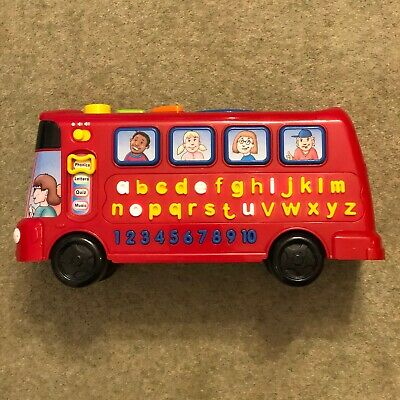 Vtech Playtime Bus Interactive Educational Playset • 4.49£
