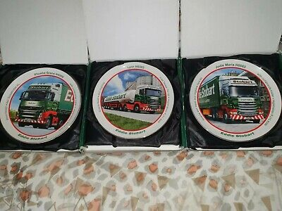 Eddie Stobart Porcelain Decorative Plates • 10£