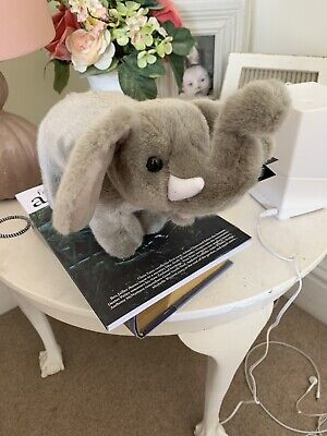 Standing Elephant Plush Soft Toy Born Free New With Tags Org • 5£