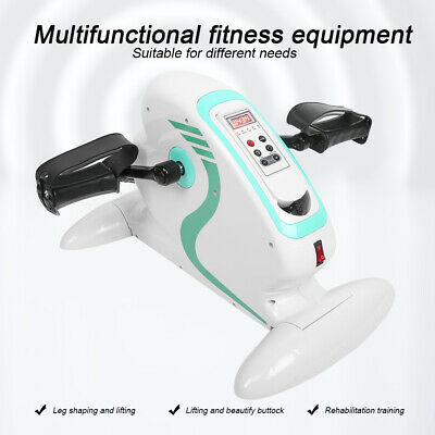 AU235.78 • Buy Mini Pedal Stepper Bike Feet Hand Cycling Fitness Exercise Trainer Desk Home Gym