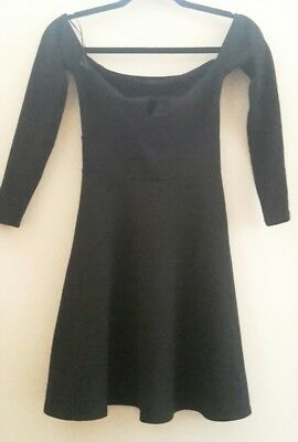 Dress River Island Size 6 Black Brand New £36 In The Shop  • 7.99£
