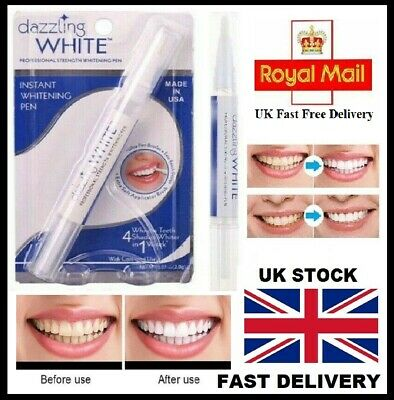 AU4.81 • Buy 💖💖 Teeth Whitening Gel Pen White Tooth Whitener Delicate Stain Remover 💖💖