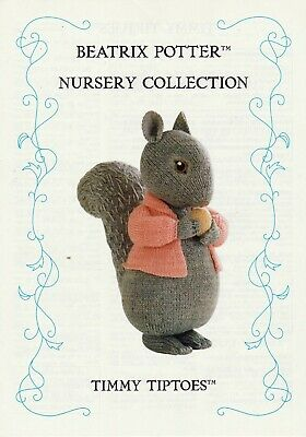 Beatrix Potter  Timmy Tiptoes   Tdb  Toy Knitting Pattern  • 18£