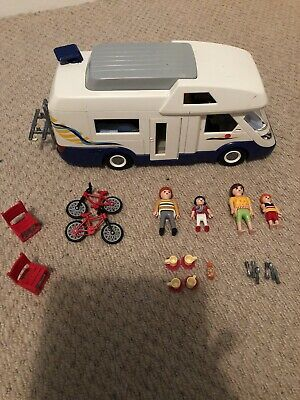 Playmobil Family Camper Van #3647 With Accessories Age 4+ • 4.40£