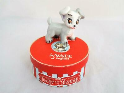Wade Disney Hatbox Scamp Boxed 1956-65  (Perfect) • 18.99£