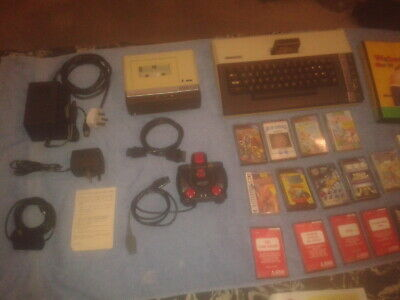 Atari 800 Xl Vintage Computer System.ex Clean Working Cond.13 Games & Joystick. • 100£