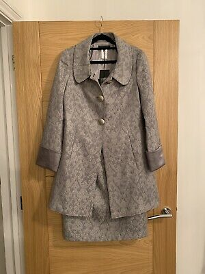 £16 • Buy Renatto Nucci Occasion Suit Dress And Coat Size 38 Mother Of The Bride