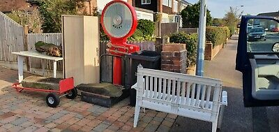 Salvaged Working Large Avery Scales Factory Post Office Workshop Garden Shed • 100£