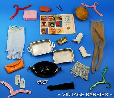 $ CDN16.86 • Buy Barbie Doll Mixed Accessories Lot #7 Excellent - TLC ~ Vintage 1960's