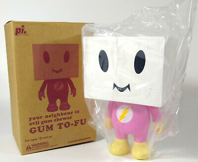 $165 • Buy 7.5  GUM TO-FU TOFU 2008 DEVILROBOTS NEW IN BOX Limited Edition 450 Bearbrick