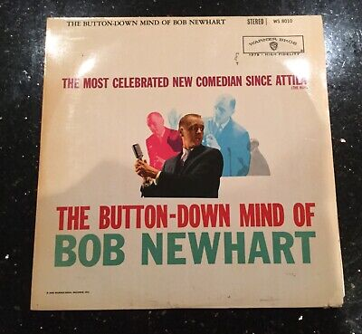 Bob Newhart The Button Down Mind Of Album LP - Warner Bros 1960 • 4.50£