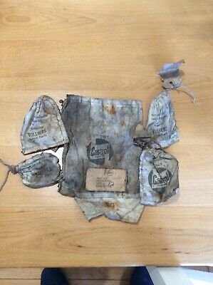 Villiers Engine Spare Parts Bags. Survived 60 Years Shame To Dump. • 5£