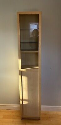 IKEA BILLY/OXBERG Bookcase With Panel/glass Door • 35£