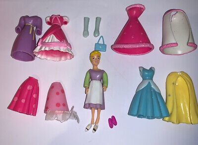 Polly Pocket Disney Cinderella Doll, Figure And Clothes • 2.99£