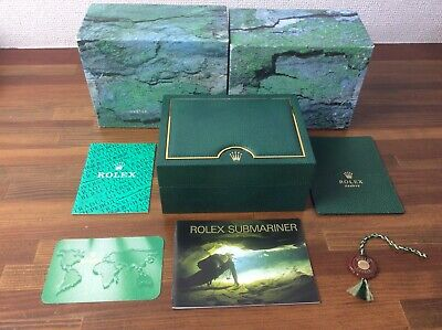 $ CDN503.67 • Buy Rolex Submariner 14060 Watch Box Set + Booklets Tags Card Holder Etc + FREE POST
