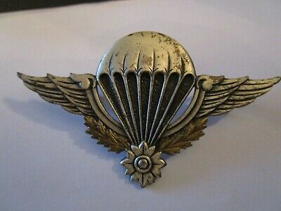 Large Parachute Commando Wings Badge For French Territory Of Cambodia • 10£