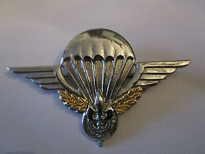Large Parachute Commando Wings Badge For French Territory Of Laos • 10£