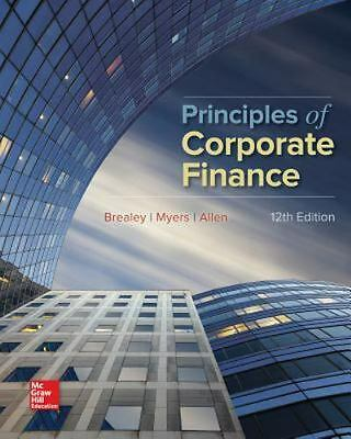 £42.19 • Buy Principles Of Corporate Finance By Stewart C. Myers, 12th Edition