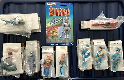 Matchbox Stingray And Thunderbirds Action Figures And Diecast Vehicles • 25£