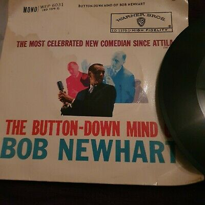 Bob Newhart The Button Down Mind Of Bob Newhart Ep Vinyl • 3.99£