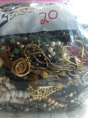 $ CDN25.95 • Buy Jewelry Lot!  7.6 Lbs Vintage To Now Costume Jewelry 99.9% Wearable