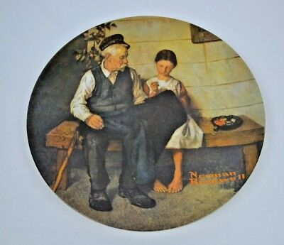 $ CDN12.98 • Buy Norman Rockwell The Lighthouse Keepers Daughter Collector Knowles Limited Plate