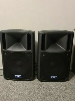 Pair Of FBT MaxX 5a 15  Active Speakers 1000w Collection  • 330£
