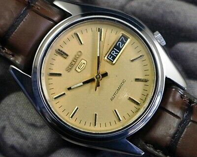 $ CDN25.24 • Buy Seiko 5 Automatic Cal.7s26 Men's Japan Refurbished Used Old Vintage Watch 850509