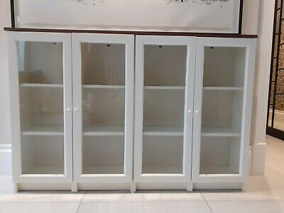 Billy Bookcase With Glass Doors • 5.50£