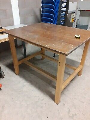 Vintage / School Eroko Lab Table/Dining Table  / Kitchen Table Island /  • 110£
