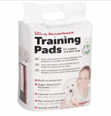 £5.99 • Buy 14 X Ultra Absorbent Pads Dog Toilet Training Aid Puppy & Adult Dogs 56 X 56cm