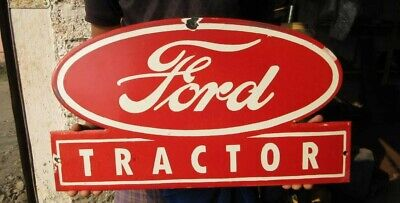 $ CDN89.42 • Buy Porcelain Ford Tractor Enamel Sign Size 21  × 12  Inches