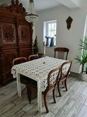 Amazing French Crochet Tablecloth  • 30£