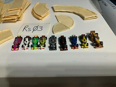 Micro Machines Job Lot - Racing Cars X9 And Track  RS03 • 10£