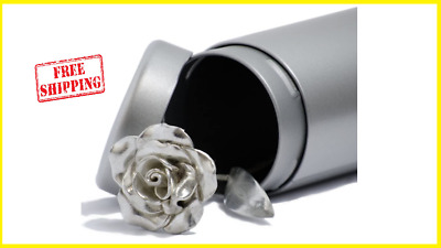 Tin 10Th Wedding Anniversary Gifts 10 Year Everlasting Heavy Rose Hancrafted New • 29.99£