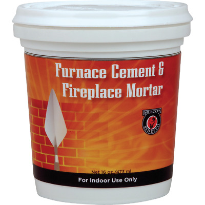 Meeco's Red Devil 1/2 Pt. Gray Furnace Cement & Fireplace Mortar 1352  - 1 Each • 3.90£