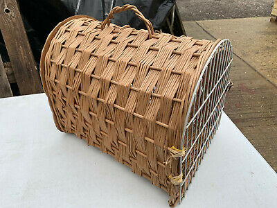 Wicker Small Animal Cat Rabbit Carrier Lot BRE141120F • 1.99£